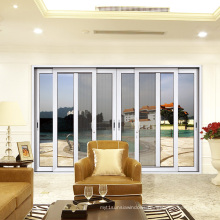 High Strength 2.0 Thickness Aluminum Soundproof Two Rails Sliding Window