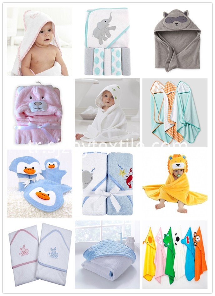 Baby Bamboo Hooded Towel