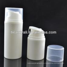 Косметический безвоздушный Plstic PP Jar для упаковки безвоздушный кувшин для сливок банки косметический фляга 50мл 75мл 100мл 150мл