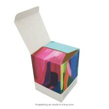 Custom Paper Packaging Essential Oil and Mug Storage Folding Cardboard Box for Serum