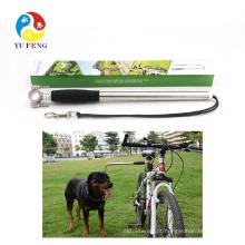 Trela do cão Conector Novas Mãos Livres de Bicicleta Jogging Caminhadas Caminhadas