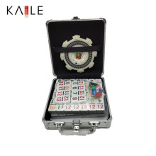 High Quality Mexican Train Domino Double 12 in Aluminum Box