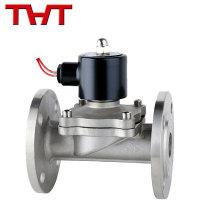 12v 24v dc ac 100mm water flange air gas regulator solenoid valve