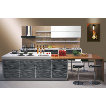 Moda acrílico Demet Cozinha Gabinete Design