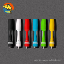 High quality empty 0.5ml 0.8ml oil cartridges cbd cartridge with custom logo