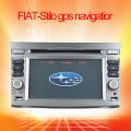 Audio de voiture intégré dans la navigation GPS pour la navigation GPS FIAT-Stilo