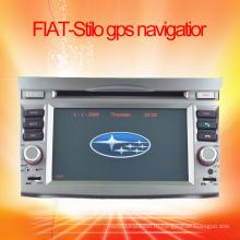 Автомобильная аудиосистема, встроенная в GPS-навигацию для FIAT-Stilo GPS-навигации