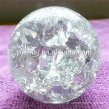 Чистый Лед Трещины Кристалл Стеклянный Шар,Ясный Кристаллический Шарик K9