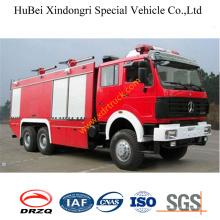 Camión de bomberos de la espuma de 12ton North Benz Euro3