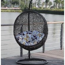 Balanço cadeira do Hammock do Rattan ao ar livre