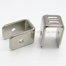 U Double-end Nickel terminal male tab