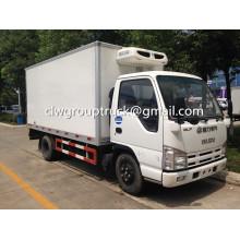 Venta de camiones refrigerados de LHD/RHD ISUZU marca 4 X 2
