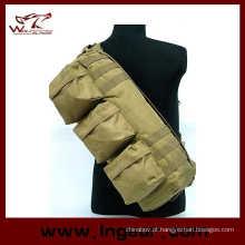 Equipamento militar tático Airsoft camuflagem ir Pack bolsa de ombro