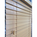 Fauxwood blinds for windows