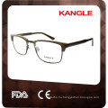 2017 New design acetate metal combination optical frames, New man style eyeglasses