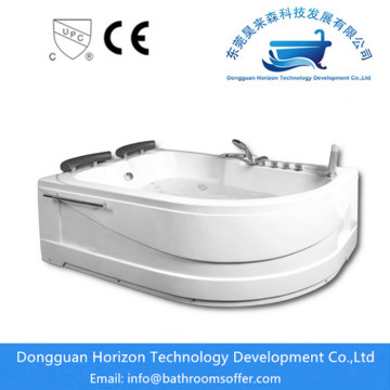 2 person free standing jetted bathtub