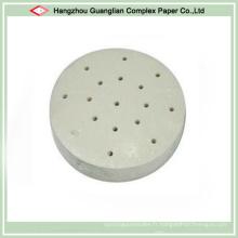 Papier de revêtement de vapeur de non-bâton siliconé pour la vapeur de Dim Sum