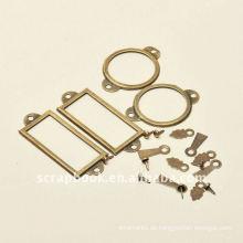 Retro-Stil Metall Rahmenstile / Foto-Halter Scrapbooking Set