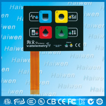 metal dome button membrane switch with FPC flex taile