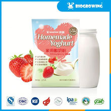 fruit taste lactobacillus yogurt live