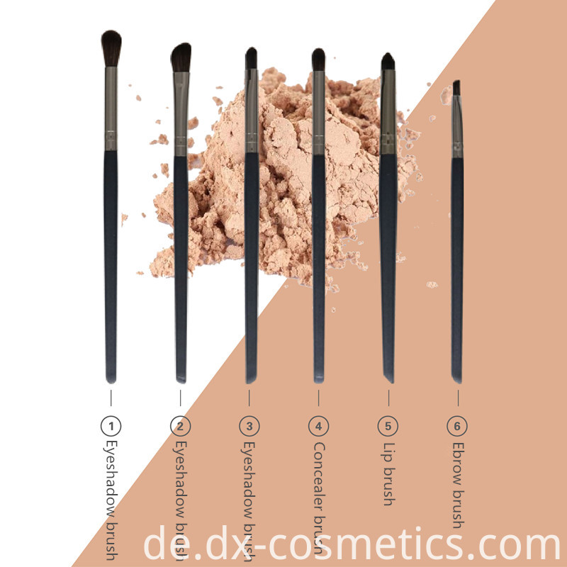 6 Pcs Eyeshadow Brush Set Main