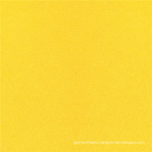 Bright Yellow Dyed Polyester Suede Fleece Cloth Fabric