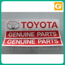 Good price car sticker custom logo