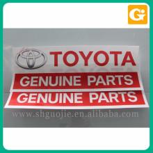 Bom preço carro adesivo logotipo personalizado