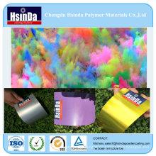 Heiße Verkaufsepoxid-Farben-gelbe purpurrote silberne Metallspray-Pulver-Beschichtung