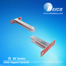 Wall mount bracket for construction with CE, NEMA, UL, ISO, SGS