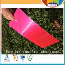 Подгонянная Фабрика Дешевая Глянцевая Конфеты Розовый Красный Прозрачный Покрытие Порошка