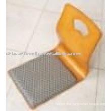 modern style yellow floor chair