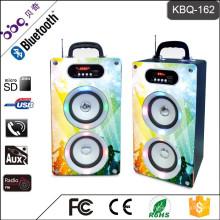BBQ KBQ-162 20W 2000mAh Shenzhen Bluetooth 2.0 / 3.0 große Lautsprecher mit Fernbedienung