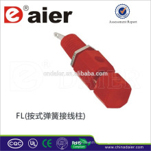 Altavoz de cobre vinculante post cobre 4mm / resorte vinculante post