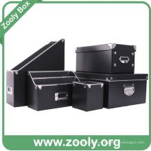 Ящик для хранения картонных коробок для настольных компьютеров и файлов