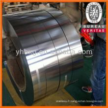 Bande en acier inoxydable 316L avec de bonne qualité (feuille d'acier inoxydable 316L)