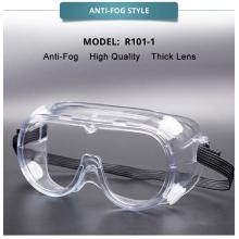 Mascarilla transparente para protección ocular