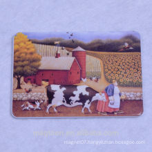 Factory directly selling Tin fridge magnet
