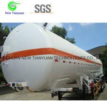 Жидкий Ln2 Хранение и транспортировка контейнера Полуприцеп