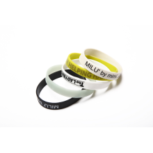 Colorful Wristband With Debossed Logo
