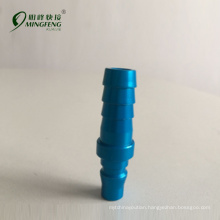 Japan type PH20/30/40 Asian market Blue alumimnm metric hose fitting
