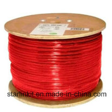 High Speed CAT6 Shielded STP Bulk Ethernet Cable 305m Red