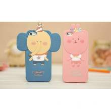 Funny Soft Custom Silicone Case for iPhone5 Case, for iPhone Case