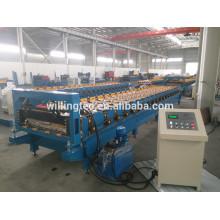 Gebrauchte Metalldachplatte Walzenformmaschine