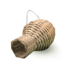 Percell Vaseformad Medium Rattan Bird Nest