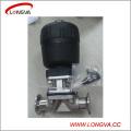 Soupape de contrôle sanitaire à diaphragme en acier inoxydable