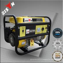 BISON (CHINA) Portable 2kw 50HZ 3000RPM Gerador de gasolina