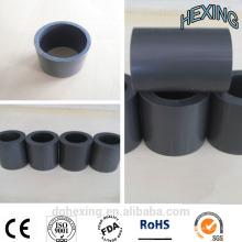 Ptfe tubo Machined piezas de plástico para el proceso