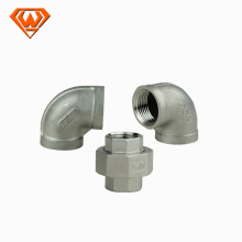 accesorios de tubería de acero inoxidable para el cliente