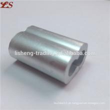 Alumínio em forma de 8